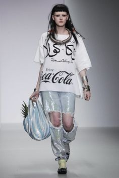 Love this Ashish X Coca Cola collab for SS14