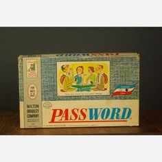 Password Board Game, lots of long evenings playing this in Kansas