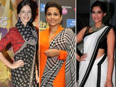 The Indian sari has been a haute essential for time immemorial. That said, several designers have given their own twist to the seven-yard wonder. Even the sari blouse has got its due with repect to stylish cuts, designs et al over the years. With our B-town A-listers always making a statement in designer sari blouses, we realised you could take some inspiration from them.Image courtesy: IANSDon't Miss! Celeb Trend: Ultimate Backless Sari Blouses