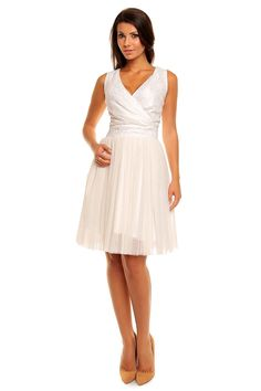 Cream Kartes Moda Dresses