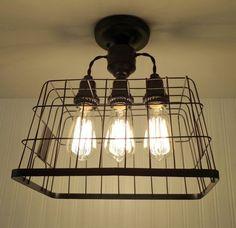 Country Kitchen Lighting Fixtures Edison Bulbs 26 Ideas For 2019 - My Home Decor Edison Bulb Light Fixtures, Farmhouse Light Fixtures, Industrial Light Fixtures, Kitchen Lighting Fixtures, Modern Light Fixtures, Ceiling Light Fixtures, Edison Bulbs, Ceiling Lights, Country Kitchen Lighting
