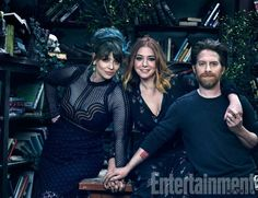 Buffy 20 Year Reunion - Amber Benson (Tara), Alyson Hannigan (Willow) and Seth Green (Oz)