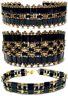 Around the Beading Table: Tila Twin Bands