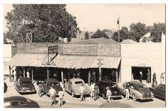 WALL DRUG, SOUTH DAKOTA, Wall Drug Store, 3 RPPC 1940's
