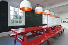 Langland offices by Jump Studios Windsor UK Langland offices by Jump Studios, Windsor   UK- more picnic tables!