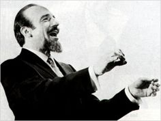 """Mitch Miller's show, """"Sing Along With Mitch"""".....follow the bouncing ball."""