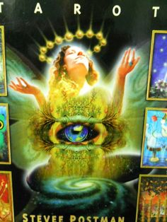 Cosmic Tribe Tarot Card Boxed Set Book 77 Cards Frontal Nudity Stevee Postman