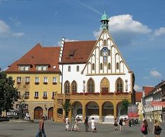 Amberg: Rathaus Top Destinations, Germany Travel, Travel Guides, Trip Planning, Raven, Cities, Mansions, House Styles, Manor Houses