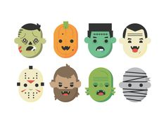 Halloweenfaces