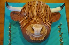 highland cow cakes - Google Search