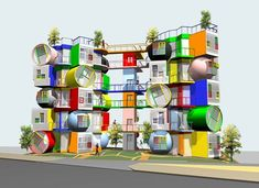Colourful Japanese lofts that 'reverse' ageing - The Chromologist