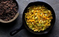 Sautéed Shredded Winter Squash and Cabbage and a Winter Vegetable Gratin | http://www.nytimes.com/2012/02/07/health/nutrition/winter-squash-and-cabbage-and-a-winter-vegetable-gratin-recipes-for-health.html?ref=cabbage