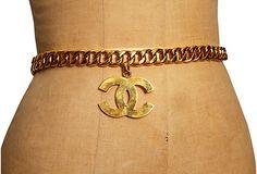 Chanel Chain Belt on OneKingsLane.com