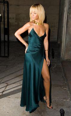 Rihanna - At Stella McCartney Special Presentation @ London Fashion Week A/W 2012 in London.  (February 2012)