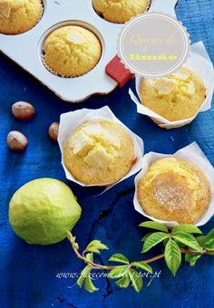 Queques simples de limão - faz e come