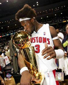 Detroit Pistons 2004 NBA Champions. Ben Wallace.