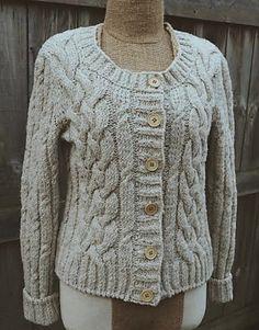 Ravelry: Boho Braid Cardigan pattern by Annie Lupton