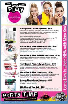 Check out our products for the fall! Contact me to book your free makeover and try the new products!