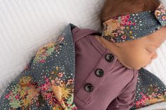 Mauve Kate Knotted Button Gown - Amelia Baby Name - Ideas of Amelia Baby Name - Mauve Kate Knotted Button Gown Gigi and Max Gigi And Max, Going Home Outfit, Baby List, Baby Gown, Everything Baby, Summer Baby, Baby Fever, Future Baby, Baby Names