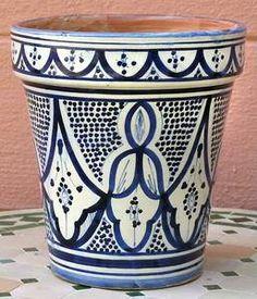 Moroccan planter