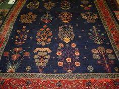 #33: 6.9 x 9.5 world class Persian tribal rug. Qashqai. Sold.