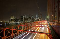 Manhattan from Brooklyn Bridge by Joseph Sketches - Photo 132216473 - 500px