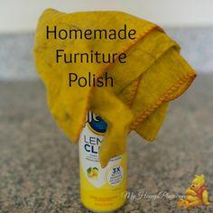 Homemade Furniture Polish Recipes