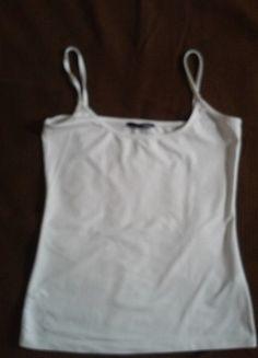À vendre sur #vintedfrance ! http://www.vinted.fr/mode-femmes/debardeurs/15148770-debardeur-blanc-etam