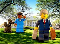 Inauguration of President Barack Obama | Custom LEGO Minifigures
