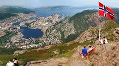 beautiful Bergen. I hope i have been at the top of this mountain one day if time....? )