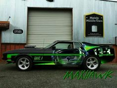 Nice Seattle Seahawks Classic Car!!