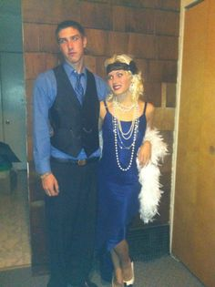 DIY Great Gatsby costume
