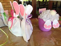 Before these Bunnies can hunt for Easter Eggs, they had to be present at a 4th birthday party. | #Easter #PartyIdeas