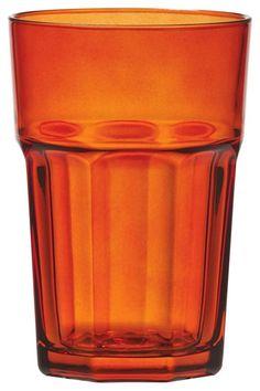 Dieses Trinkglas aus dem Hause NOVEL besticht durch hohe Qualität und geschmackvolles Design. Das Glas besteht aus transparentem Glas und überzeugt durch eine trendige Form. Dabei präsentiert sich das Trinkglas in charmantem Orange und besitzt ein Fassungsvermögen von ca. 360 ml. Aus diesem hochwertigen Glas trinken Sie gerne!