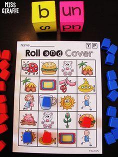 Word families short u words game! Short Vowel Games, Short Vowel Activities, Word Family Activities, Cvc Word Families, First Grade Activities, Short Vowels, Family Games, Alphabet Phonics, Phonics Words
