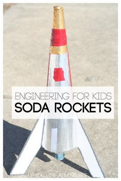 Are you looking for an awesome engineering for kids project? This classic twist on a baking soda rocket is a fantastic way to encourage creativity and problem solving. Borax Experiments, Cool Science Experiments, Easy Science, Projects For Kids, Diy For Kids, Diy Projects, Palmolive Dish Soap, Kids Baking, Baking Soda