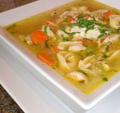 Rotisserie Chicken and Tortellini Soup