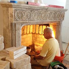 Enjoy the warmth of a flame emitted from one of our stone fireplaces and experience that same feeling of contentment today as our ancestors did centuries before us.  Phone: 212-461-0245 Email: Sales@ancientsurfaces.com Website: www.AncientSurfaces.com