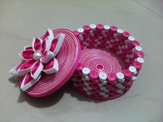 Paper Quilling Jewellery Box-Online Shopping-9