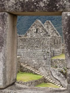 Inca Ruins, Machu Picchu, UNESCO World Heritage Site, Peru