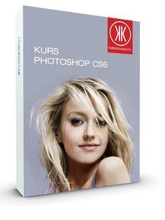 Pudełko kursu programu Photoshop zaprojektowane dla Kursomaniak.pl