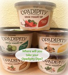 Go Greek with Opadipity Dips by @litehousefoods