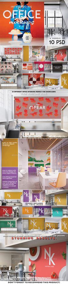 Office Branding Poster Mockup