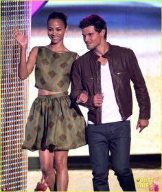 Zoe Saldana - Teen Choice Awards 2012