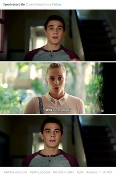 She's such a good person she still wants to be friends with Archie after all that happened
