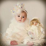 Baby hats PATTERN baby girl hat DIY Hat PDF by Amarmi on Etsy Baby Girl Hats 3cdb051154c