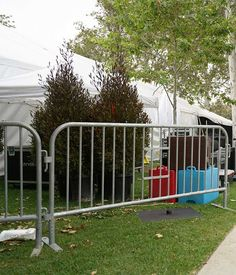 Crowd steel barricades are perfect for crowd control with their innate strength and ability to be easily rearranged. Event Security, Portable Toilet, Toilets, Be Perfect, Crowd, Strength, Events, Steel, Litter Box