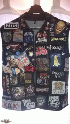 Metal Fashion, Punk Fashion, Biker Leather, Leather Jacket, Rock Revolution, Pride And Glory, Punk Jackets, Battle Jacket, Heavy Metal Rock