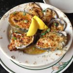 Charbroiled Oysters at Desire Oyster Bar, Bourbon Street, New Orleans, Louisiana - Rhythm of Our Lives Blog @ RhythmOfOurLives.com