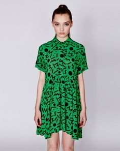 Lazy Oaf Going Green Dress